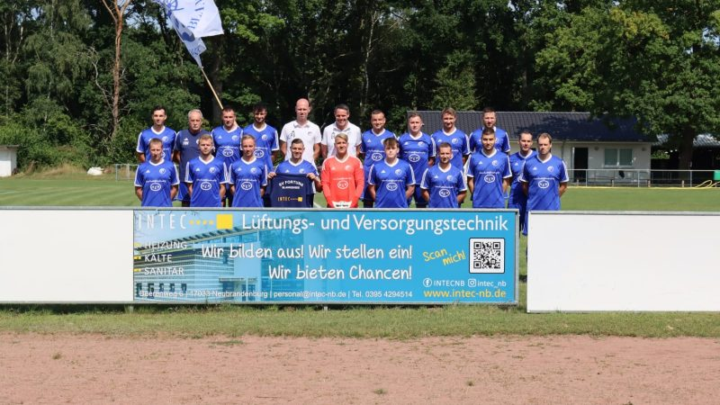 Fußballverein SV Fortuna Blankensee -Intec Sponsor